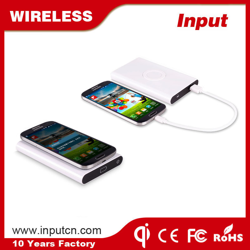 New design manual wireless power bank for camping emergency power charging