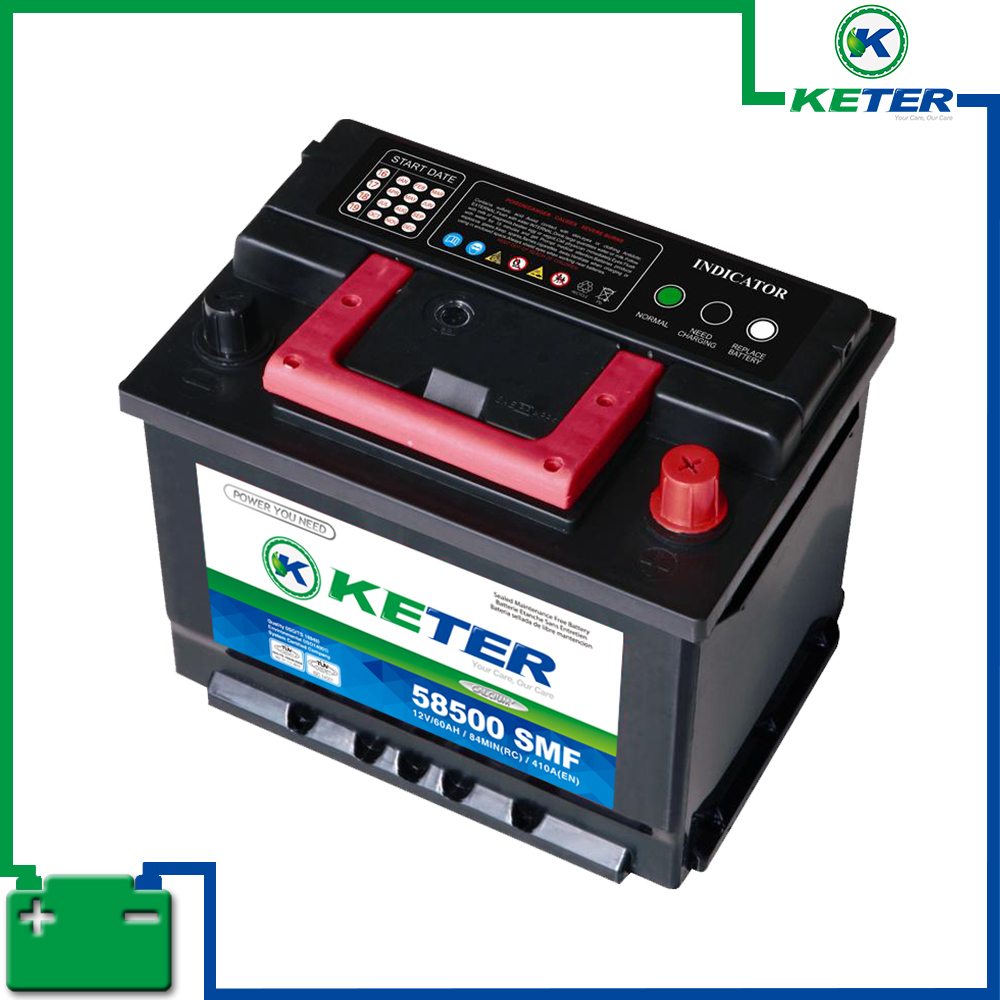 KETER BRAND SEALED MAINTENANCE FREE BATTERY 58500 SMF