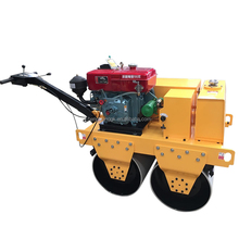 road construction equipments / Walk Behind Hydraulic Small Double Drum Road Roller
