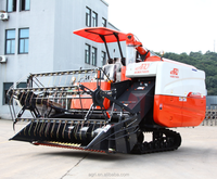Gear Drive Drive Type and ISO Certificate Mini Soybean Combine Harvester