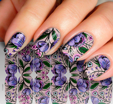 2018 Selling The Best Quality Floral Cost-Effective Product Nail Art