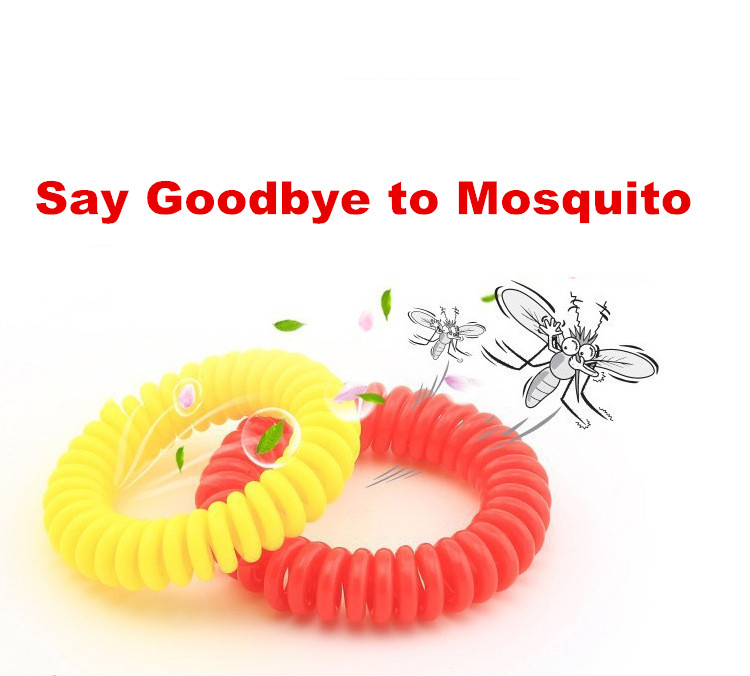 Say Goodbye!!!Hot Sale EVA Natural Essential Oil Mosquito Repellent Bracelets