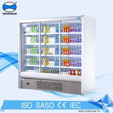Used Drinks Display 2 Glass Door Upright Chiller For Sale