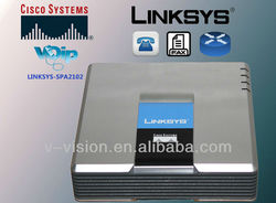 Linksys SPA2102 / VOIP Adapter/ router/internet phone adapter spa2102 2 FXS ports 2 Network portS
