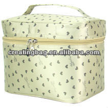2016 stain large cosmetic bag with compartments