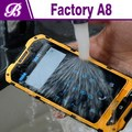 4.0 inch Dual Core MTK6572 rugged phone land rover a8 android 4.2 ip68 waterproof