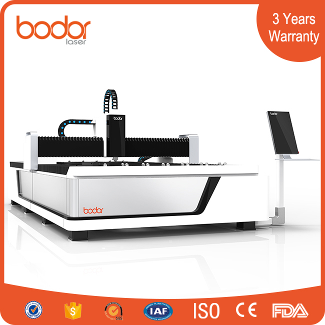 China sheet fiber laser cutting machine CNC control