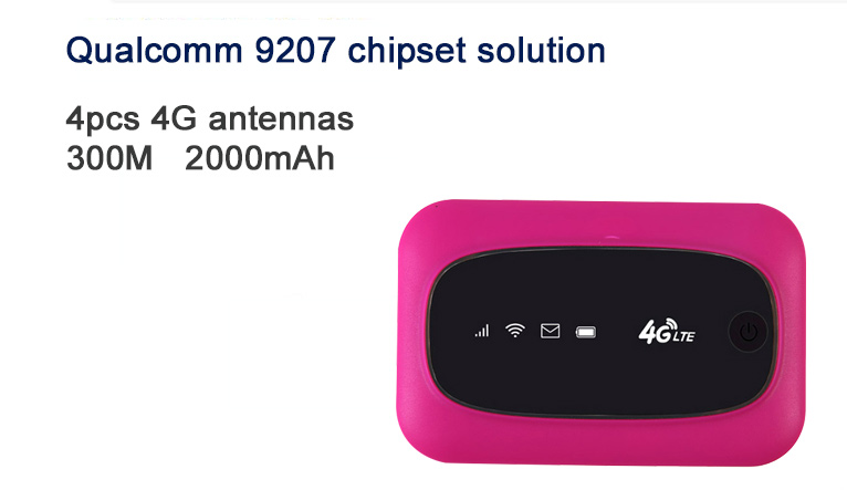 Global wifi 300mbps mini internet wireless 4g lte router