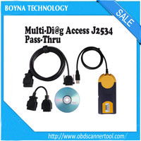[Wholesale price] New released 2014.01 version Multi-Diag Multi Diag Access J2534 Pass-thru obd2 scanner tool Multi-Diag