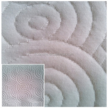 XZHS-14 Hangzhou Home Textile 100% Polyester Double Knitted Jacquard Jersey Knit Air Mattress Fabric and Textile