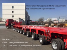 400 Ton Multi-Axle Hydraulic Modular Truck Trailer for Hot Sale
