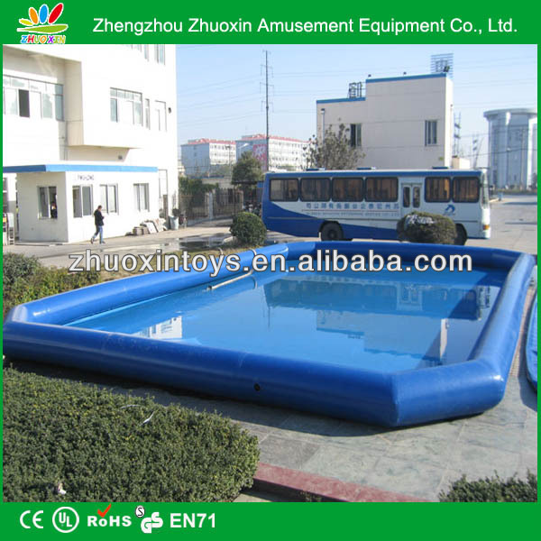 portable outdoor pvc palm tree inflatable pool