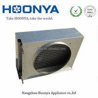 Evaporator with aluminium fin and copper tube from Hangzhou China