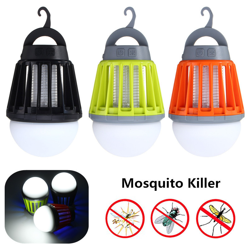 Outdoor USB Charging LED Mosquito Killer Lamp Waterproof Climbers Mosquitoes killer light