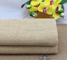 100% Polyester Heavy Synthetic Burlap/linen/jute/hessian