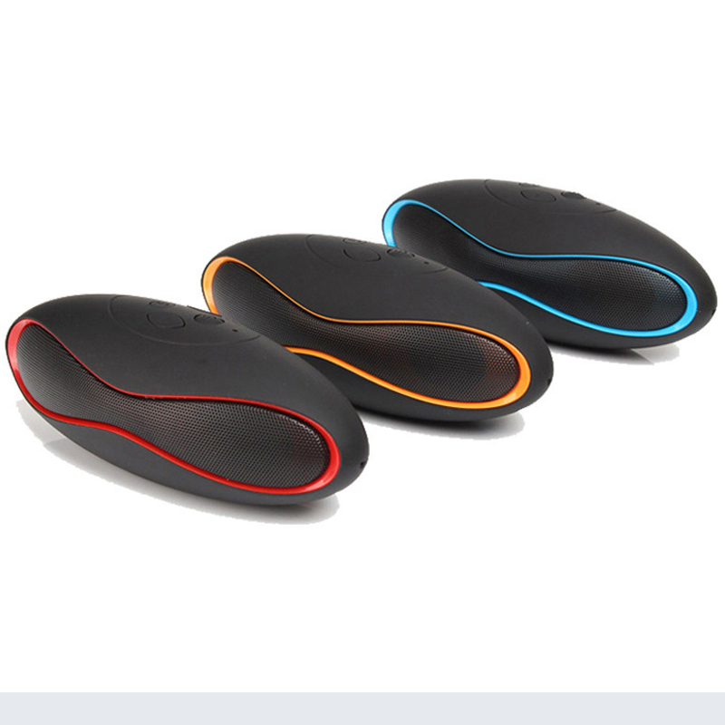 Hot Sale Olive Shape Portable Mini Rechargeable Wireless Subwoofer Bluetooth 3.0 Speaker