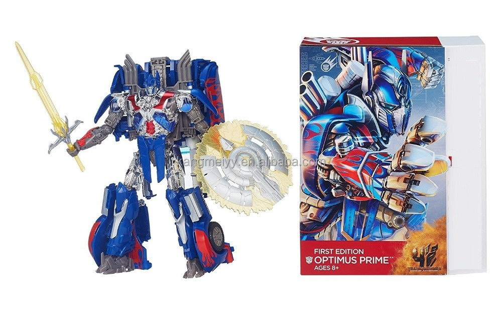 Autobots Age of Extinction First Edition Optimus Primes Cartoon Transform Robot Action Figure