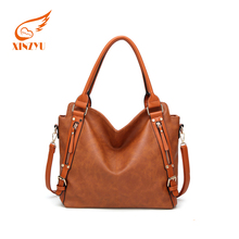 Fashion Design Direct Factory Supply Women Pu Leather Tote Bag Handbag