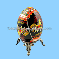Hest Selling Antique Painting Ceramic Duck Egg Holder