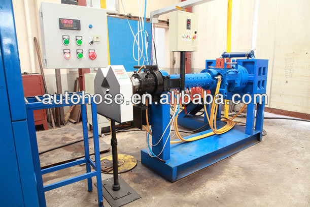 SHM60-120*12/14 EPDM/NBR/NR Rubber hose cold feed pin extruding line