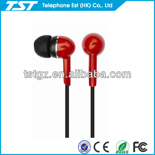 2013 coloful 3.5mm zipper earphone for mobile phone