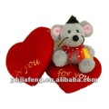 Valentine Plush Toys Mouse for Kids