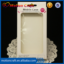 Smart Phone case packing white Box/Mobile Phone Case box/Cell Phone Gift Packaging Box