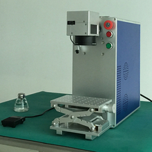 20W 30W Portable Mini Cnc Fiber Laser Marking Machine For Metal Engraving