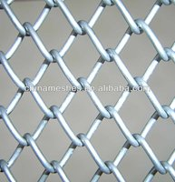 PVC Coated Chain Link Fence for playground / garden
