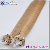 Alibaba Wholesale Remy Hight Grade Hair micro bead hair weft