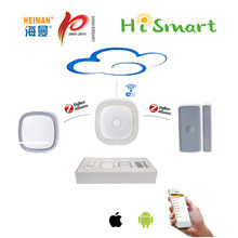 2016 newest HEIMAN zigbee gateway controller with app remote control