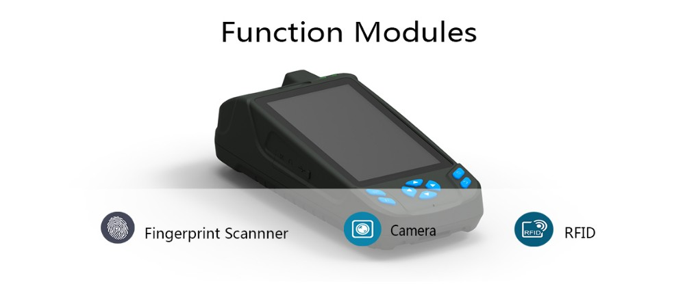 Handheld Biometric Fingerprint Scanner M5