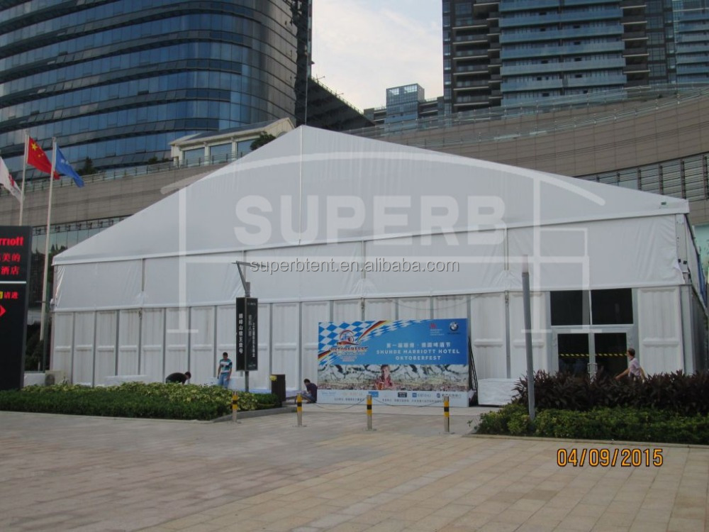 Customized Size Aluminum Frame Sound Proof Big Tents for Sale