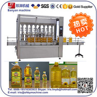 Hot Sale!!! vegetable oil filling and capping machine with ce 0086-18516303933