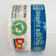 Hot sale colored opp film acrylic adhesive printed packing tape made in China