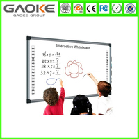 Interactive Whiteboard Whiteboard Type and No Folded Wall mounted screens