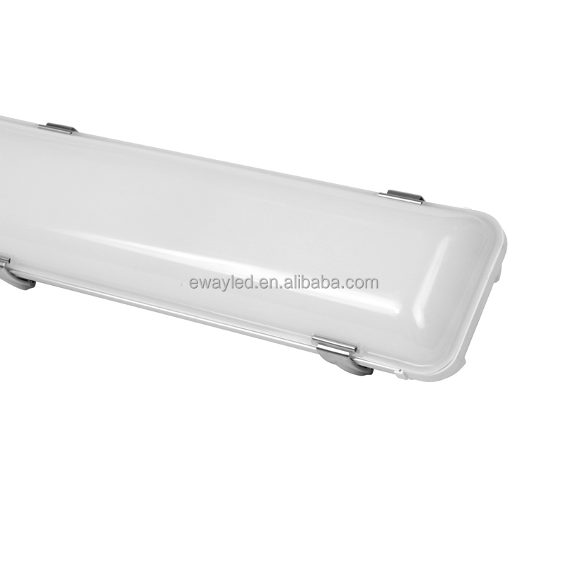 IP65 LED Explosion Proof Tube Light 5 Years Warranty Tri Proof LED Linear Batten Light