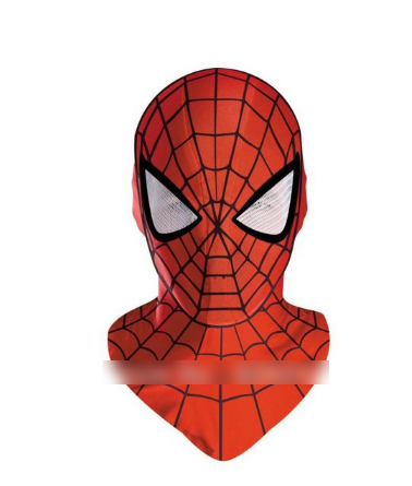 Cosplay hood mask face mask spiderman mask