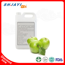 50 Times Concentrated Green Apple Juice Beverage Syrup Raw Material Ingredients