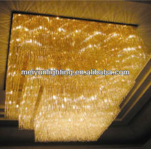 Modern five star hotel lobby crystal chandeliers pendant light