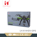 wholesale 6-axis gyro 2.4G 4ch rc selfie air drone with GPS