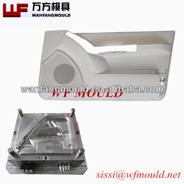 Factory direct sale-plastic auto trim door parts molding/decorative exterior parts mould/car body molds process