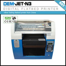 Best Selling digital inkjet golf ball /tennis/basketball/football /volleyball logo printing flatbed printer