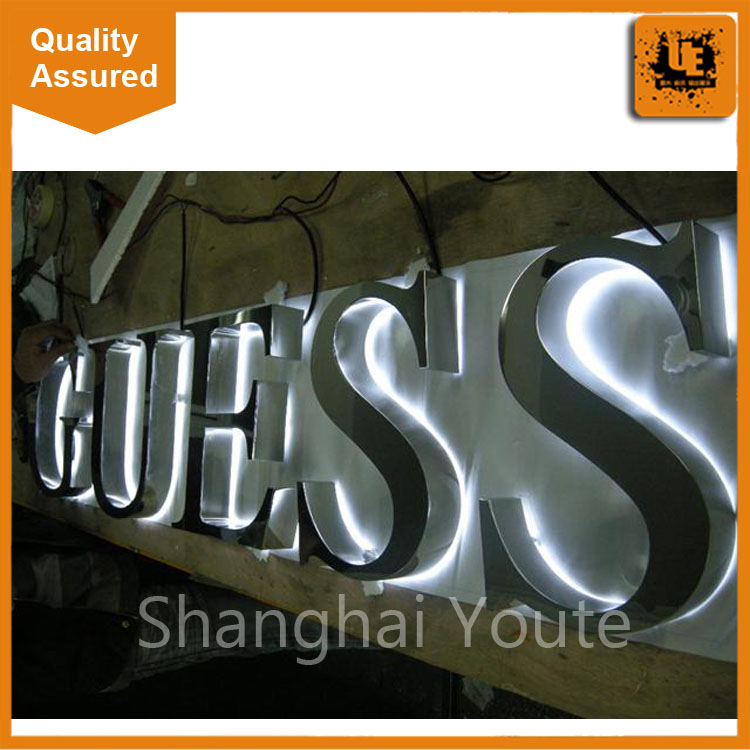 Factory price 3D led Channel backlit letter <strong>signs</strong>