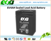6V4AH UPS Sealed Lead Acid Storage Battery