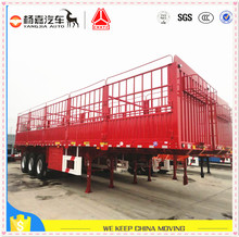 The latest promotion box semi trailers and trucks for sale