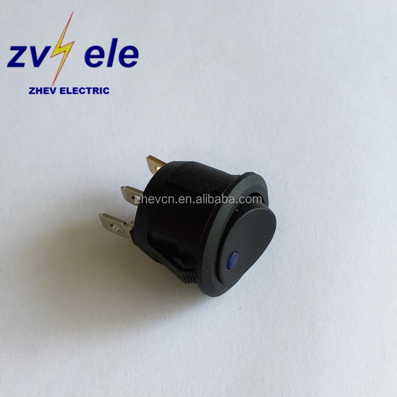 car 12v led round rocker switches with dot light spst 20a buycar 12v led round rocker switches with dot light spst 20a