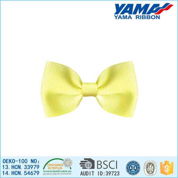 fashion grosgrain ribbon bow tie