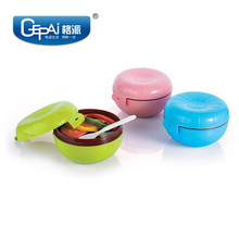 Round BPA free commercial plastic food containers