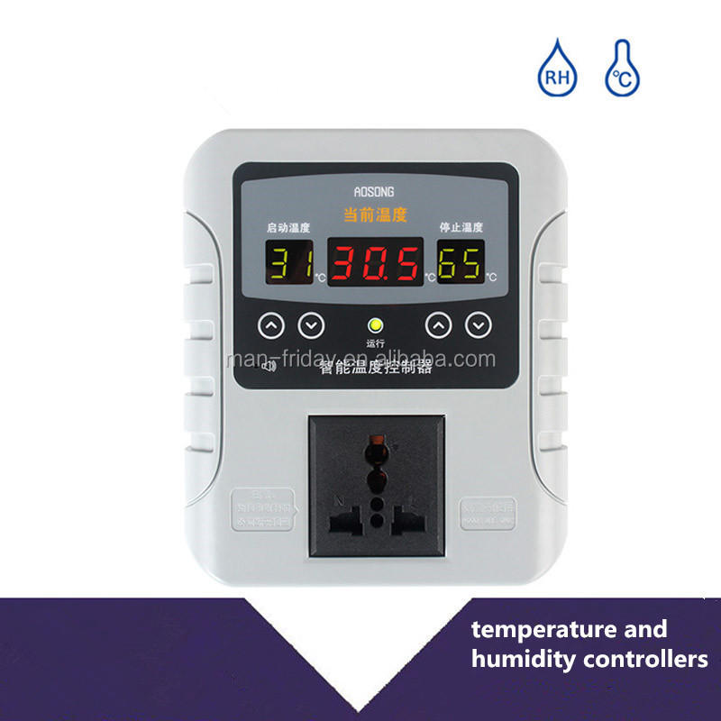Innovative AK8001 Electronic Humidity and Temperature Controller Design